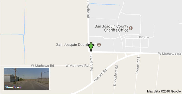 San Joaquin County Jail location