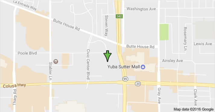 Sutter County Jail location